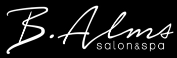 B.Alms Salon Logo